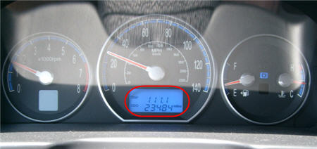 1111 on the trip odometer