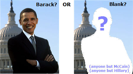 is it barack or is it blank?