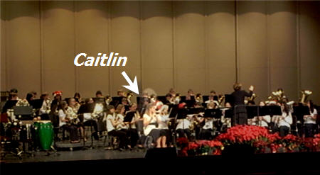caitlin hall in crms band 2007