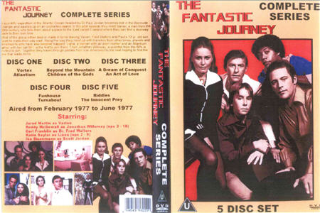 DVD Cover of The Fantastic Journey