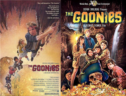 Goonies Cover Art
