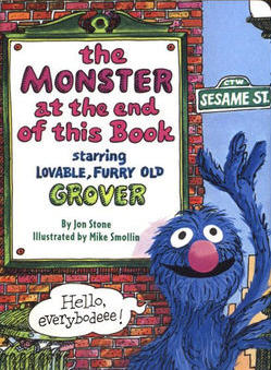 grover monster at end of this book
