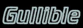 gullible logo