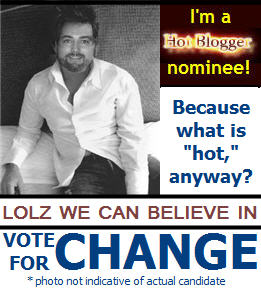 hot blogger calendar vote for change lolz we can believe in whall