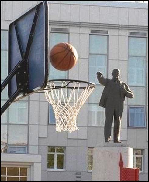 Statue making basket