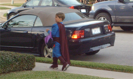 jaden halloween superman