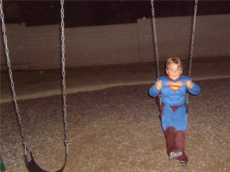 halloween superman jaden swing