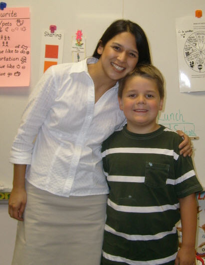 heidi dominguez, jaden's kindergarten teacher in 2007-2008