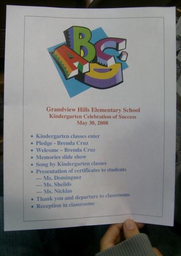jaden grandview hills celebration of success kindergarten