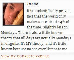 jannaverse blog janna