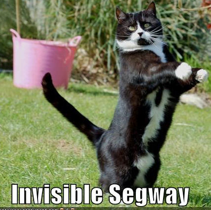 lolcats invisible segway