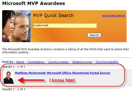 Matthew McDermott gets MVP Award