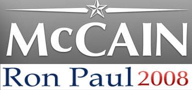 mccain/paul ticket logo banner