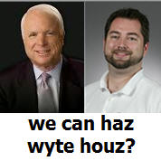 mccain wayne mcwayne we can haz whitehouse