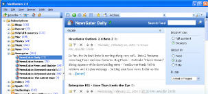 newsgator windows client
