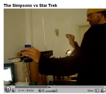 Simpsons vs Star Trek