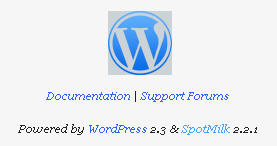 wordpress 2.3 upgrade