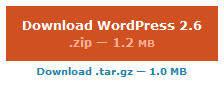 wordpress 2.6 is out